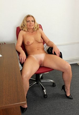 Interesting moment naked mature office woman discussion