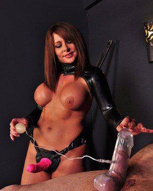 Vacuum compilations cock pump Femdom on