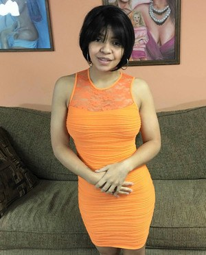 image Mature busty latina milf showing off body part 2
